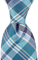 Class Club Plaid Silk Tie