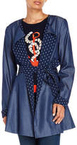 Yumi Anchor Wrap Coat