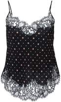 Givenchy printed lace cami top