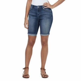 Bandolino Women's Petite Riley Relaxed Fit Bermuda Short
