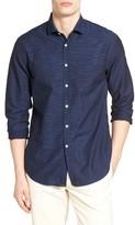 Billy Reid Men's John T Standard Fit Stripe Sport Shirt