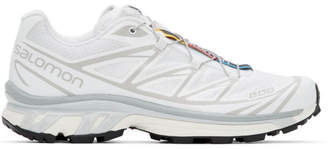 Salomon White Limited Edition XT-6 ADV Sneakers