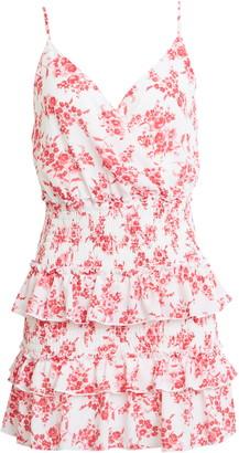 Rowa Floral Tiered Minidress