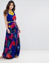 Louche Electra Rose Maxi Dress