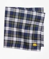 Brooks Brothers Dress Gordon Tartan Pocket Square