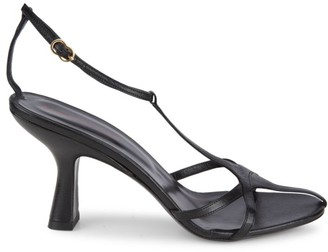 Simon Miller Star Leather T-Strap Sandals