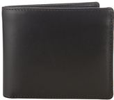 Launer Made In England Premium Leather Bi-fold Wallet, Black