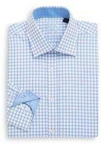 English Laundry Regular-Fit Graphic Check Cotton Dress Shirt