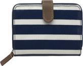 Cath Kidston Breton Stripe Folded Zip Wallet