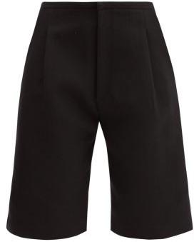 Totême Lluc Twill Bermuda Shorts - Black