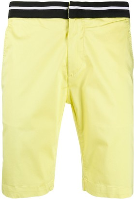 Karl Lagerfeld Paris Elasticated Chino Shorts
