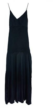 IORANE Smocked Waist Maxi Dress