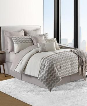 Sunham Finn Cotton 14-Pc. California King Comforter Set Bedding