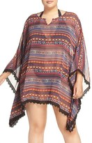 Jessica Simpson Plus Size Women's Cover-Up Kimono
