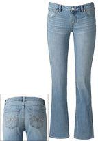 Apt. 9 embellished modern fit bootcut jeans - women's
