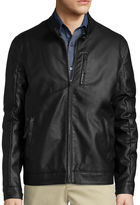Claiborne Faux Leather Jacket