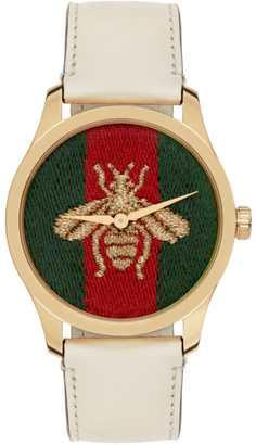 Gucci Gold G-Timeless Contemporary Watch