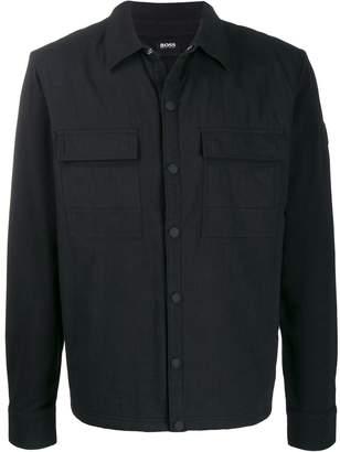 HUGO BOSS button down shirt jacket