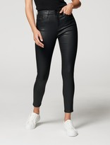 Thumbnail for your product : Forever New Sara Mid Rise 7/8 Jean - Coated Black - 14