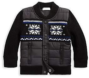Ralph Lauren Baby Boy's Mixed Media Jacket