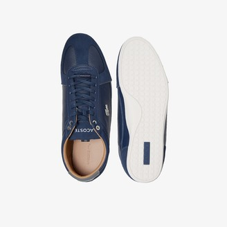 Lacoste Men's Evara Leather and Suede Sneakers