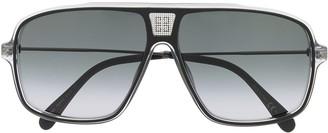 Givenchy Eyewear GV7138/S clear frame sunglasses