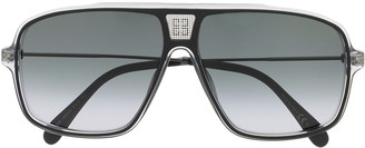 Givenchy GV7138/S clear frame sunglasses