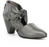 Eileen Fisher Metallic Leather Mary Pumps