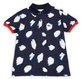 Lacoste Toddler's, Little Boy's & Boy's Cloud-Print Pique Polo