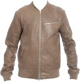 S.W.O.R.D. Brown Leather Jacket