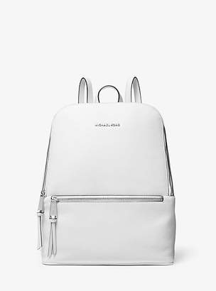 Michael Kors Toby Medium Pebbled Leather Backpack