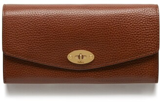 Mulberry Darley Wallet Oak Natural Grain Leather