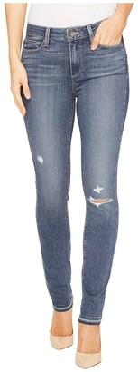 Paige Women's Hoxton Ankle Peg W/Folded Undone Hem Jeans