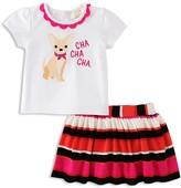 Kate Spade Girls' Cha Cha Cha Tee & Skirt Set