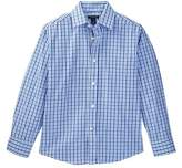 Tommy Hilfiger Alternating Gingham Shirt (Big Boys)
