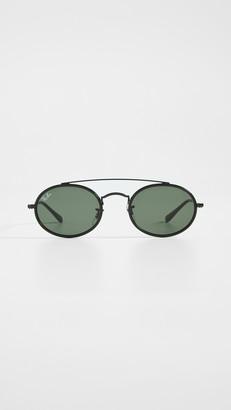 Ray-Ban 0RB384 Narrow Oval Sunglasses