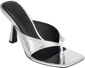 Sigerson Morrison Kaliska Sculpted High-Heel Sandals