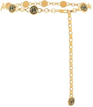 Gucci Interlocking G chain belt