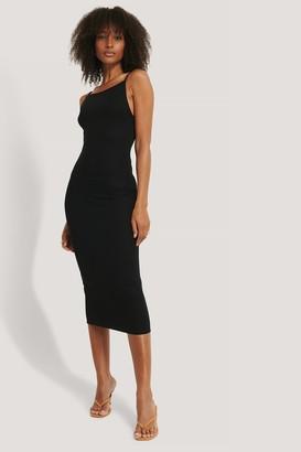 NA-KD Thin Strap Midi Dress