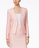 Nine West Tweed Open-Front Blazer