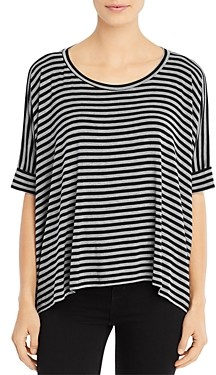Majestic Filatures Striped Relaxed Tee