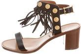 Valentino Embellished Fringe Sandals