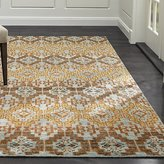Crate & Barrel Nell Oasis Wool-Blend Rug