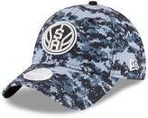 New Era Women's Black/Gray San Antonio Spurs NBA City Series 9TWENTY Adjustable Hat