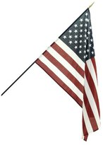 Online Stores USA23CF Classroom American Flag for Schools, 2 by 3-Feet