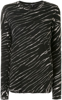 Proenza Schouler tie-dye long-sleeved T-shirt