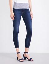 Hudson Barbara skinny mid-rise jeans