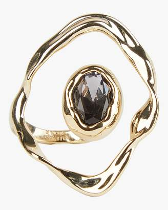 Alexis Bittar Crumpled Orbit Stone Ring