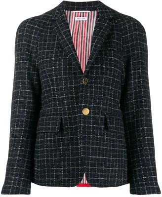 Thom Browne Tattersall Check Pattern Blazer