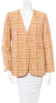 Carven Tweed Blazer